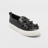 Women's Samara 3D Floral Twin Gore Sneakers - A New Day™
