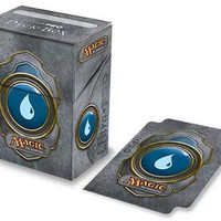Magic The Gathering Blue Mana Deck Box
