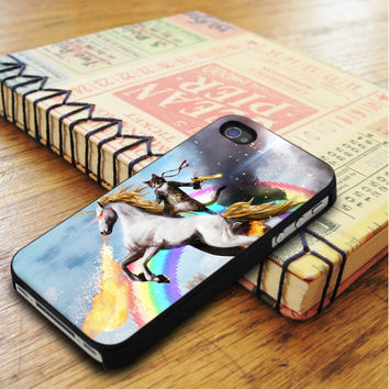 Cat Riding Unicorn iPhone 5 | iPhone 5S Case