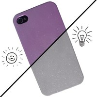 iChange iPhone 4 Case - Silver to Pink