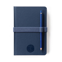 Hardcover Notebook - Navy Blue