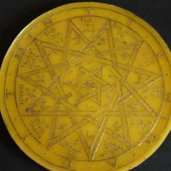 Sigil of Frater Achad | Charles Stansfield Jones | Thelema | Wax Sigil and Seal