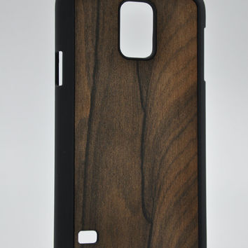Ziricote rare wood - Samsung Galaxy S5 Wood Cover - Unique wood case -FREE WORLDWIDE SHIPPING!Handmade in Europe!