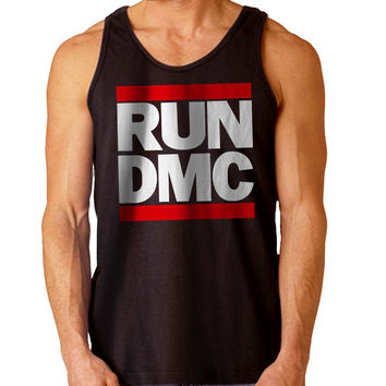 Run DMC For Mens Tank Top Fast Shipping For USA special christmas ***