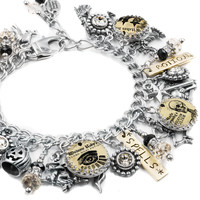 Moonbeams Magic Shoppe Halloween Charm Bracelet