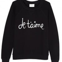 Je T'aime Jumper by Ganni