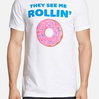Men's Mr. Chips 'They See Me Rollin' Graphic T-Shirt,
