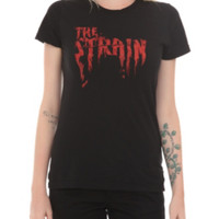 The Strain Melting Logo Girls T-Shirt
