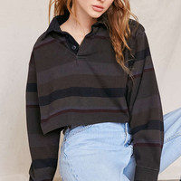 Urban Renewal Remade Assorted Rugby Cropped Shirt - Urban Outfitters