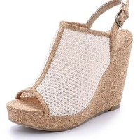 Dominique Slingback Wedges