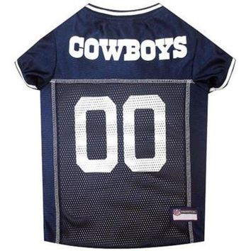 DCCK8X2 Dallas Cowboys NFL Dog Jersey