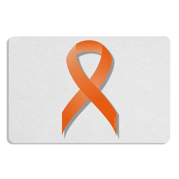 Leukemia Awareness Ribbon - Orange Placemat