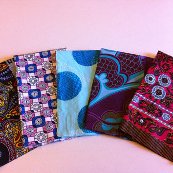 FAT QUARTER BUNDLE--African Wax Print--Java Prints 5-pack bundle