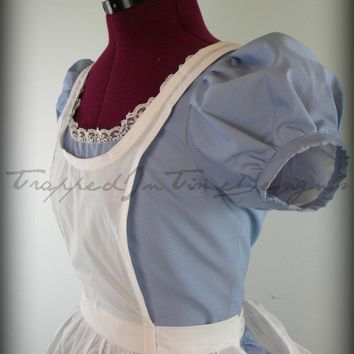 Alice Costume, Alice In Wonderland, Gothic Lolita Dress--Custom Made--