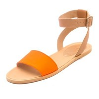 MM6 Maison Martin Margiela Contrast Band Flat Sandals | SHOPBOP