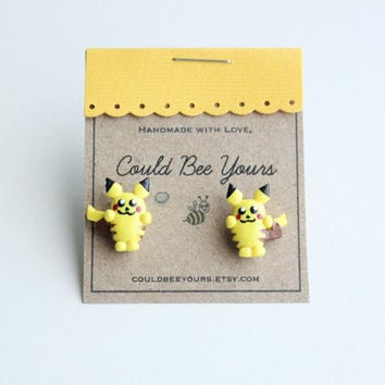 Pokemon Pikachu Earrings