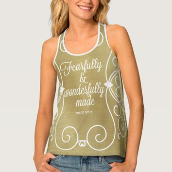 Fearfully and Wonderfully Made Verse Tank Top