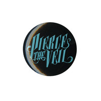 Pierce The Veil Turquoise Logo Pin | Hot Topic
