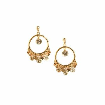San Juan Earrings in Gold