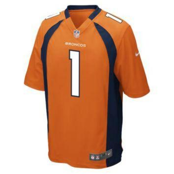 DCCKWV6 Nike NFL Denver Broncos (Rookie) Men's Football Home Game Jersey