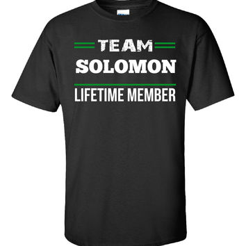 Team SOLOMON Lifetime Member - Unisex Tshirt