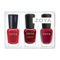 The Mini Red Trio is packaged in a clear plastic trio box and pre-packed with Oswin, Posh & Livingston!
