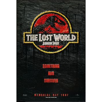 Jurassic Park 2 Poster Lost World 24inx36in