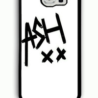 Samsung Galaxy S6 Case - Hard (PC) Cover with 5 Seconds of Summer 5SOS Ashton Plastic case Design