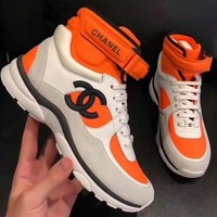 cc kuyou Channel Sneakers High Or