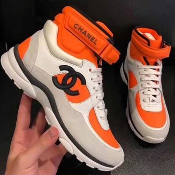 cc spbest Channel Sneakers High Or