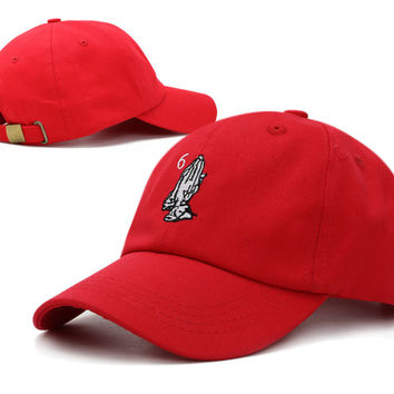Red Drake 6 God Baseball Cap