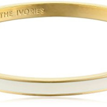"kate spade new york ""Tickle The Ivories"" Cream Idiom Bangle Bracelet"