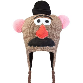 Mr. Potato Head - Big Face Peruvian Knit Hat