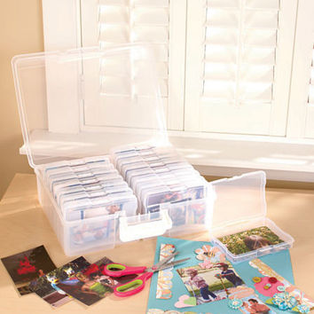 Photo Keeper Saver Organizer Carrying Case