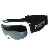 POLARLENS PG6 Ski goggles/ Snowboard Goggles / Sunglasses with Reflective Flash Mirror Lens / Includes Functional Microfiber Pouch / Goggles are Helmet Compatible/ Great Look and Performance by European Designer