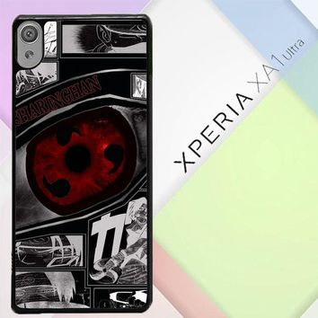 Anime Naruto Sharingan X4954 Sony Xperia XA1 Ultra Case