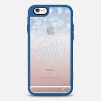 Holidays Snowflakes are Winter's Butterflies iPhone 6s case by Love Lunch Liftoff | Casetify