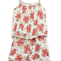 Trace of Lace Floral Romper (Kids)