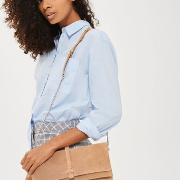 Suede Leather Cross Body Bag | Topshop