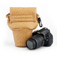 H05 L Khaki pighead Bag for Camera