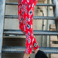 Let It Rock Pants, Red-Black