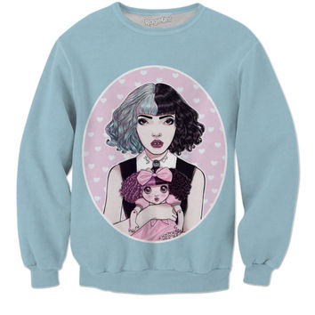 Melanie Martinez Sweat Shirt (blue)