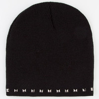 Pyramid Stud Beanie Black One Size For Women 22365610001