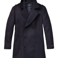 Double-Breasted Gentleman'S Coat - Scotch & Soda