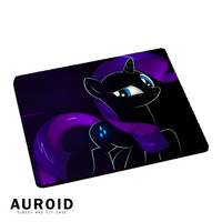 Rarity Little Pony Black Mousepad Mouse Pads Auroid