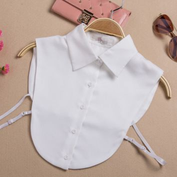 White shirt collar all-match false body Dickie fashion doll collar shirt collar false