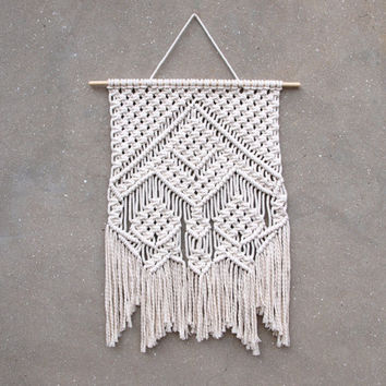 Living room wall decor Bohemian wall hanging Macrame wall art Wall accents Eco home decor Macrame wall hanging Home accents New home gift