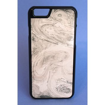 Gray Marbled Print Phone Case