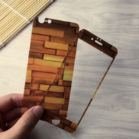 Eco-friendly Wood Grain Tempered Glass Screen Protecter 06