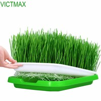 VICTMAX 2sets Double-Layer Seed Sprouter Nursery Pots Hydroponics Basket Flower Plant Germination Tray Box